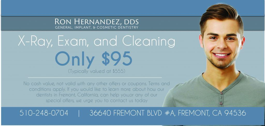 $95 x-ray, exam and cleaning, valued at $555